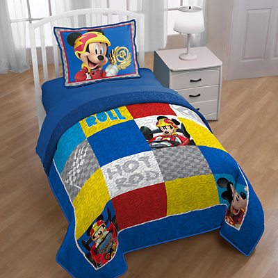Disney Mickey Mouse Clubhouse Roadster Racer Twin/Full Quilt