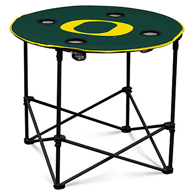 Oregon Ducks Portable Round Table