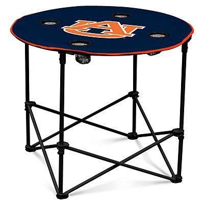 Auburn Tigers Portable Round Table