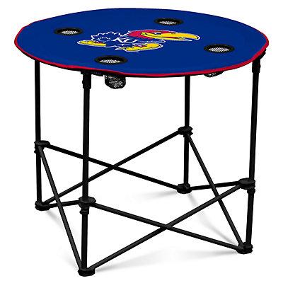 Kansas Jayhawks Portable Round Table