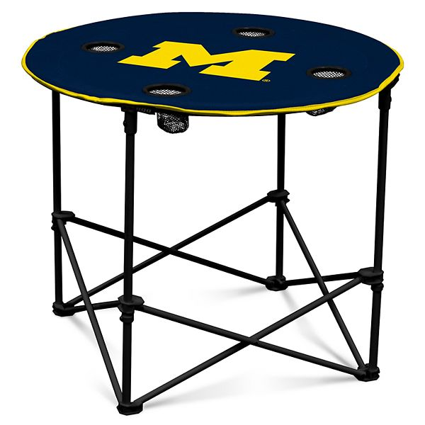 Michigan Wolverines Portable Round Table, Michigan Round Table