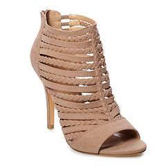 7eba3aa5165 Womens Brown Peep Toe Pumps   Heels - Shoes