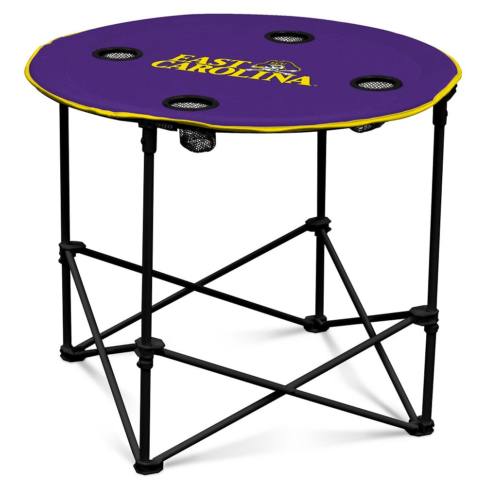 East Carolina Pirates Portable Round Table