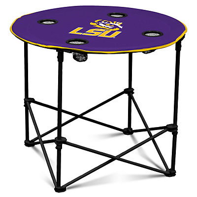 LSU Tigers Portable Round Table