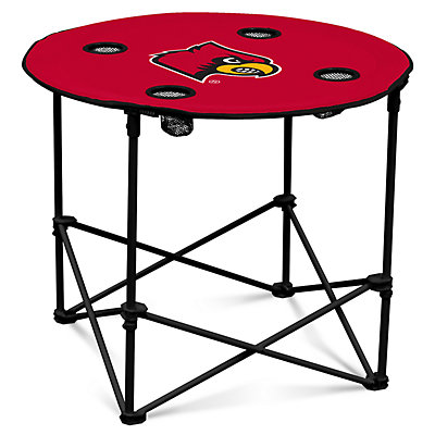 Louisville Cardinals Portable Round Table