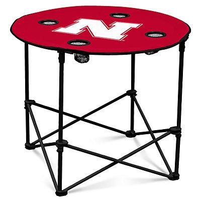 Nebraska Cornhuskers Portable Round Table
