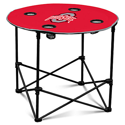 Ohio State Buckeyes Portable Round Table