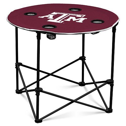 Texas A&M Aggies Portable Round Table
