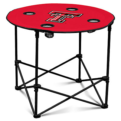 Texas Tech Red Raiders Portable Round Table