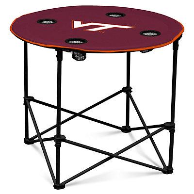 Virginia Tech Hokies Portable Round Table