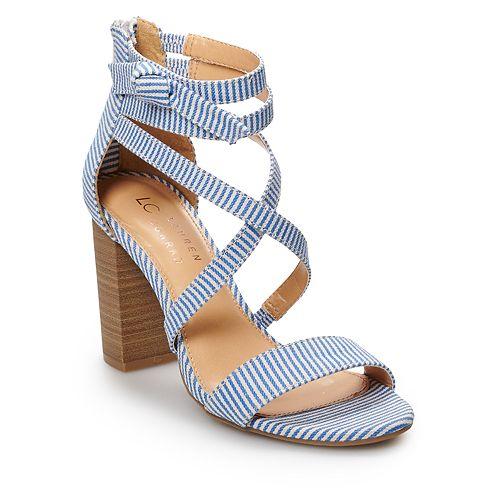7e316e955c0 LC Lauren Conrad Walnut Women's High Heel Sandals