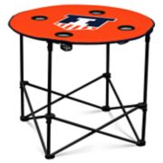 Illinois Fighting Illini Portable Round Table