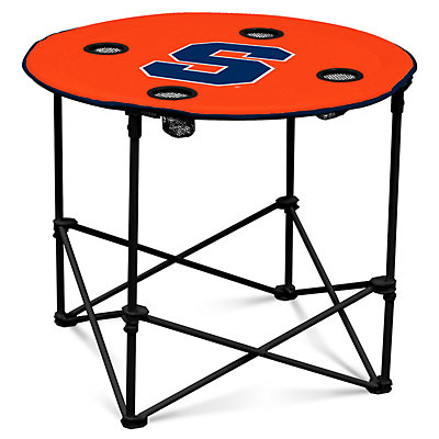 Syracuse Orange Portable Round Table