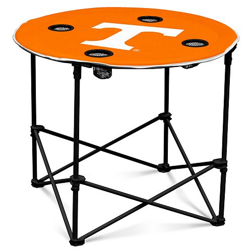 Tennessee Volunteers Portable Round Table