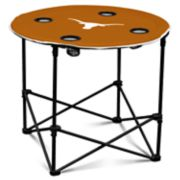 Texas Longhorns Portable Round Table