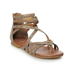 6c68963cf SO® Scarlet Women s Gladiator Sandals. White Stone Black