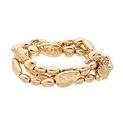 Dana Buchman 3 Row Stretch Bracelet