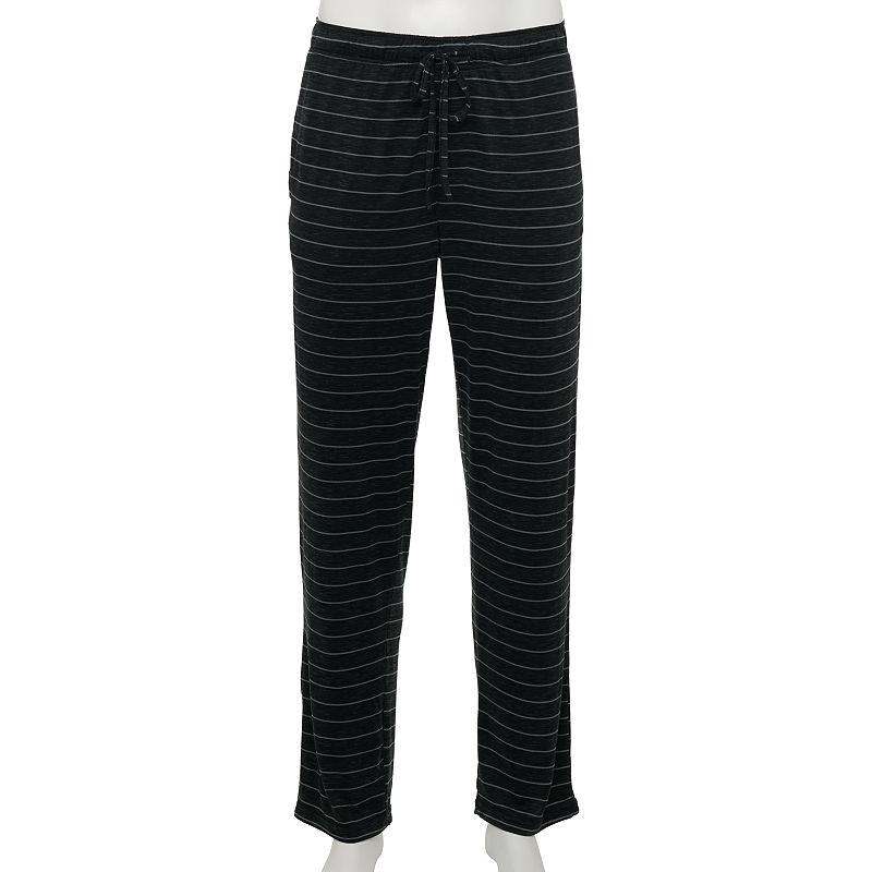 Men's Apt. 9 Ultra Soft Elastic-Waist Sleep Pants. Size: Small. Oxford
