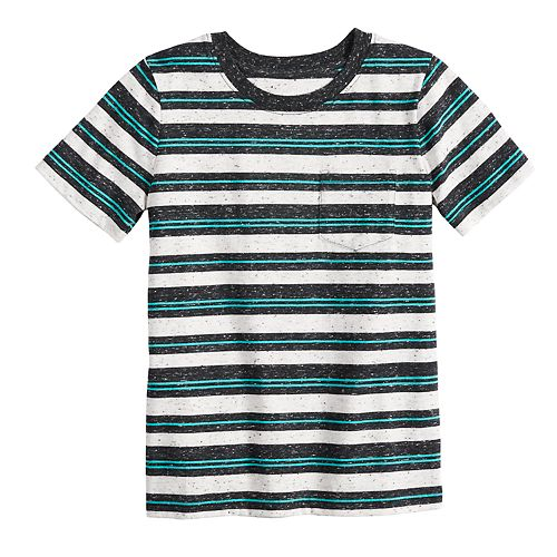 Boys 4-12 Jumping Beans® Striped Pocket Tee