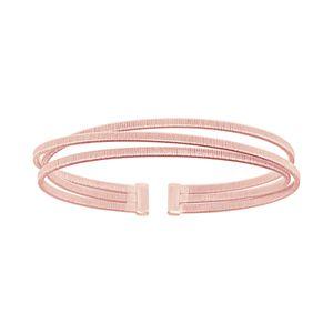 Sterling Silver Wire Cuff Bracelet