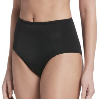 Women's Nike Solid High-Waisted Bikini Bottoms