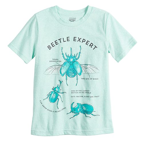 "Boys 4-12 Jumping Beans® ""Beetle Expert"" Bugs Graphic Tee"
