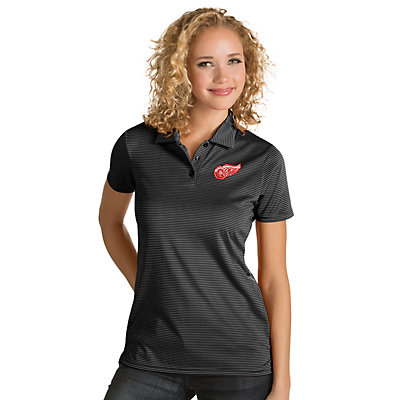 Antigua Women's Detroit Red Wings Quest Polo