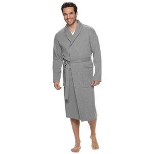 Men's Croft & Barrow® Waffle-Weave Shawl-Collar Robe