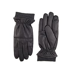 Men's Exact Fit Stretch Knuckle Gloves with Knit Cuffs