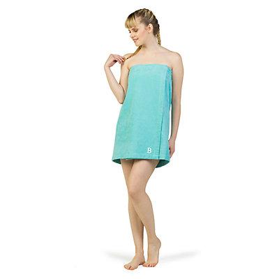 Linum Home Textiles Turkish Cotton Personalized Women's Terry Body Wrap