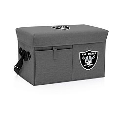 Oakland Raiders Ottoman Cooler & Seat