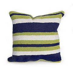 Liora Manne Portsmouth Nautical Indoor Outdoor Throw Pillow