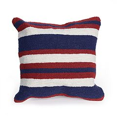 Liora Manne Portsmouth Nautical Indoor Outdoor Throw Pillow