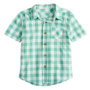 Boys 4-12 SONOMA Goods for Life? Checked Woven Shirt