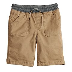Boys 4-12 SONOMA Goods for Life™ Pork Chop Pocket Pull On Shorts