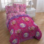 Disney's Princess Friendship Adventures Twin Bedding Set