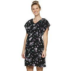 Maternity a:glow Challis Floral Dress