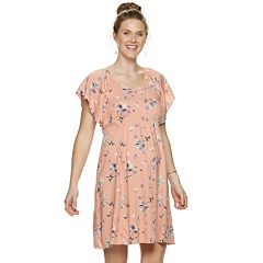 bccee0695 Maternity a glow Challis Floral Dress