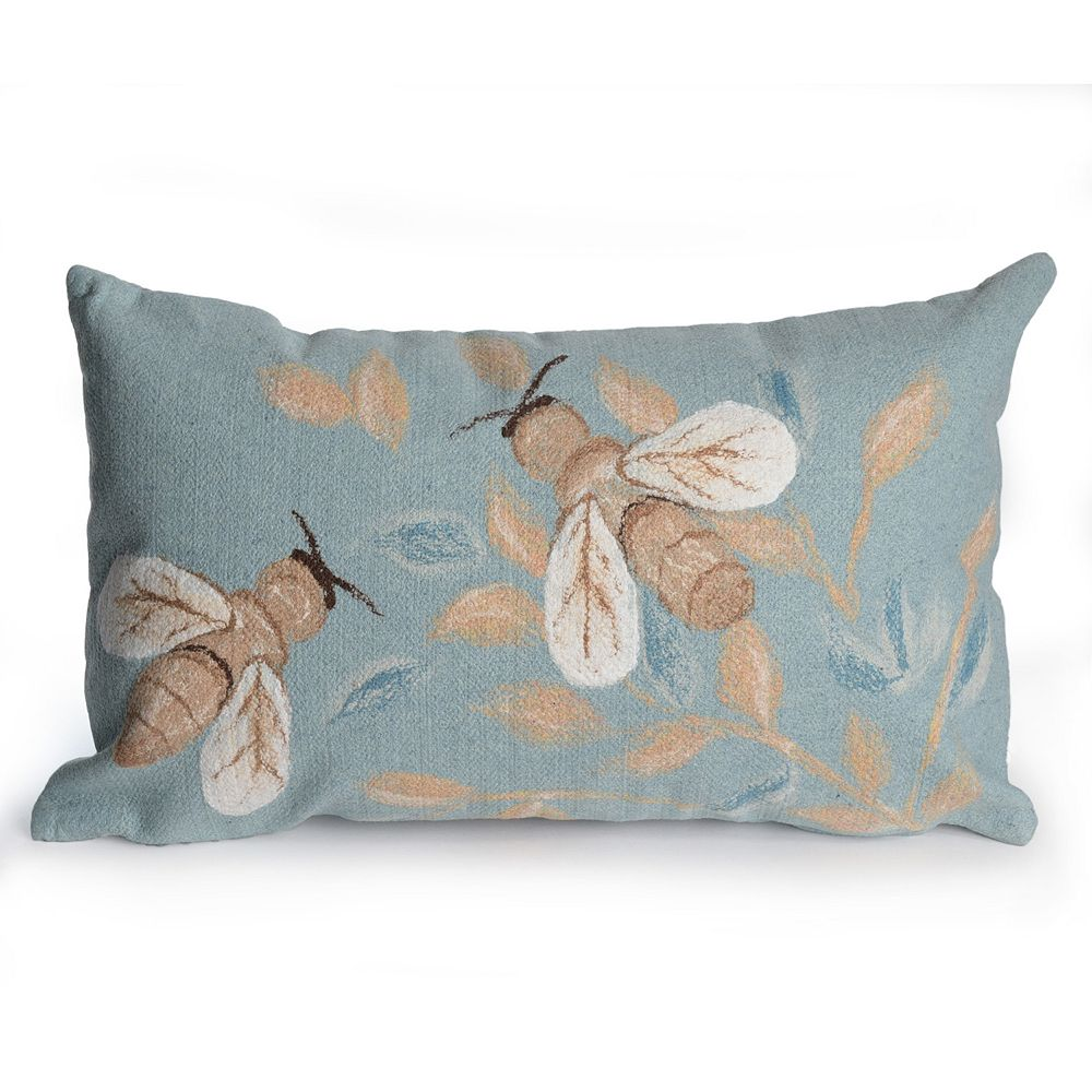 Liora Manne Visions III Bees Indoor Outdoor Throw Pillow