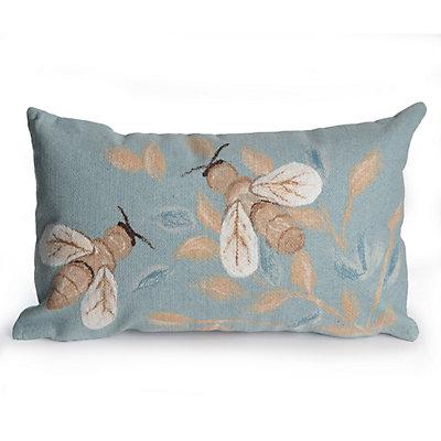 Liora Manne Visions III Bees Indoor Outdoor Throw Pillow
