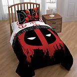 Marvel Deadpool Reversible Comforter
