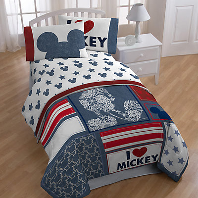Disney's Mickey Mouse Americana Bedding Set