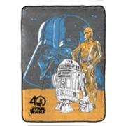 Star Wars Classic Fleece Blanket