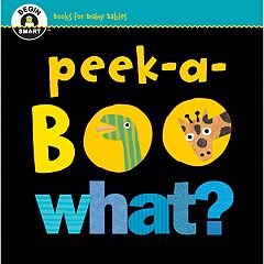 Kohl's Cares Begin Smart: Peek-a-boo What? Board Book