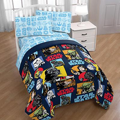 Star Wars Galactic Grid Comforter