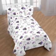 Disney's Minnie Mouse Purple Love Sheet Set