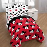 Disney's Mickey Mouse Cute Faces Bedding Set