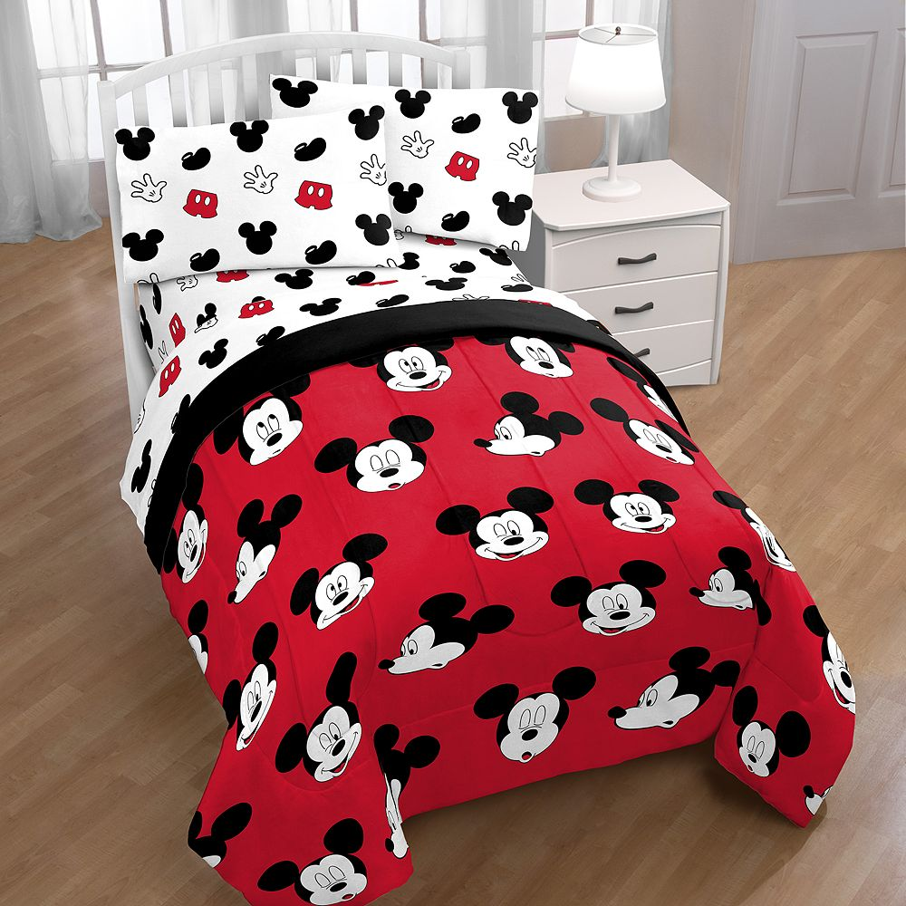 Disney's Mickey Mouse Cute Faces Comforter