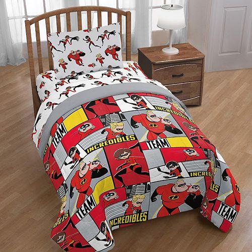 Disney/Pixar Incredibles Family Bedding Set