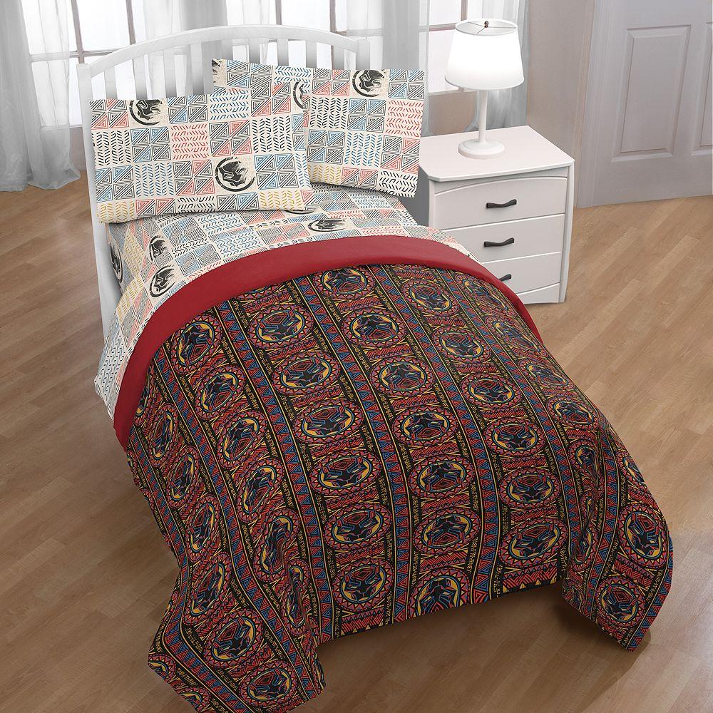 Black Panther Tribal Bedding Set